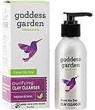 Goddess Garden Organics Erase the Day Purifying Clay Cleanser, 4 Ounce
