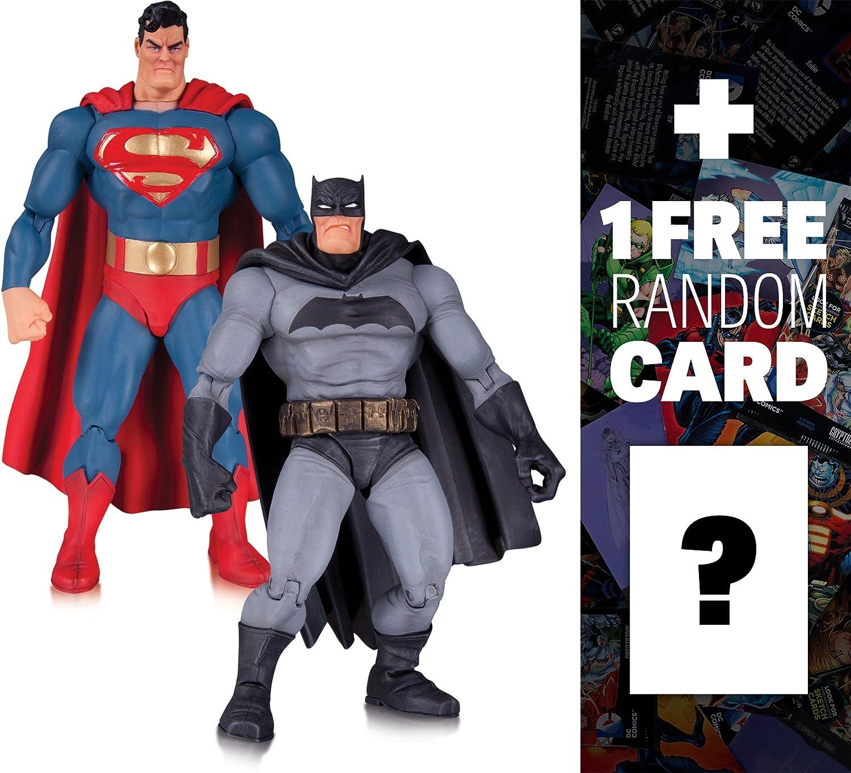 The Dark Knight Returns Action Figure 2-Pack Superman /& Batman 30th Anni OFFERTA
