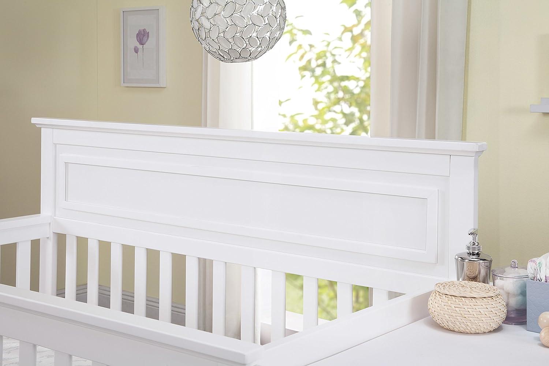DaVinci Autumn 4-in-1 Crib /& Changer Combo White