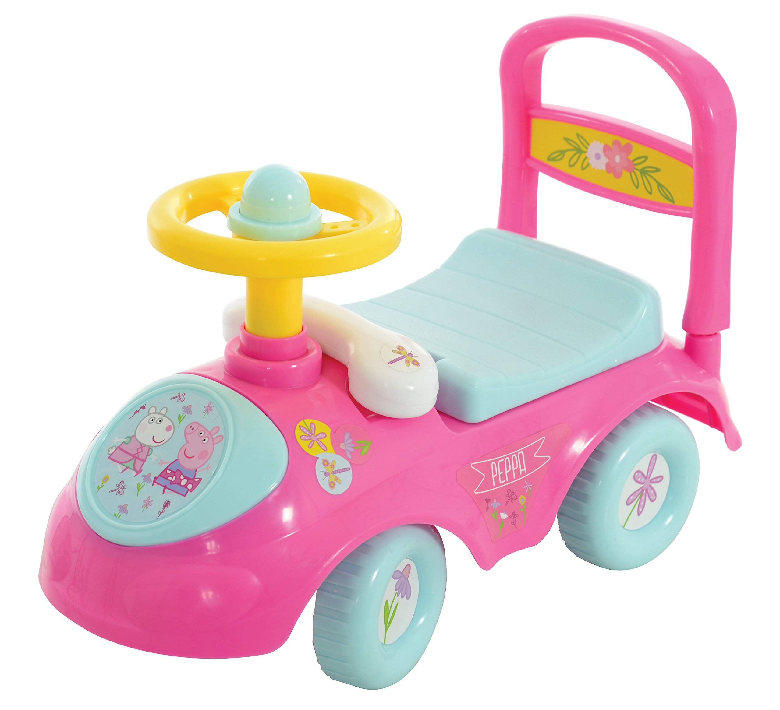 Peppa Pig My First Sit & Ride On M07195 by MV Sports