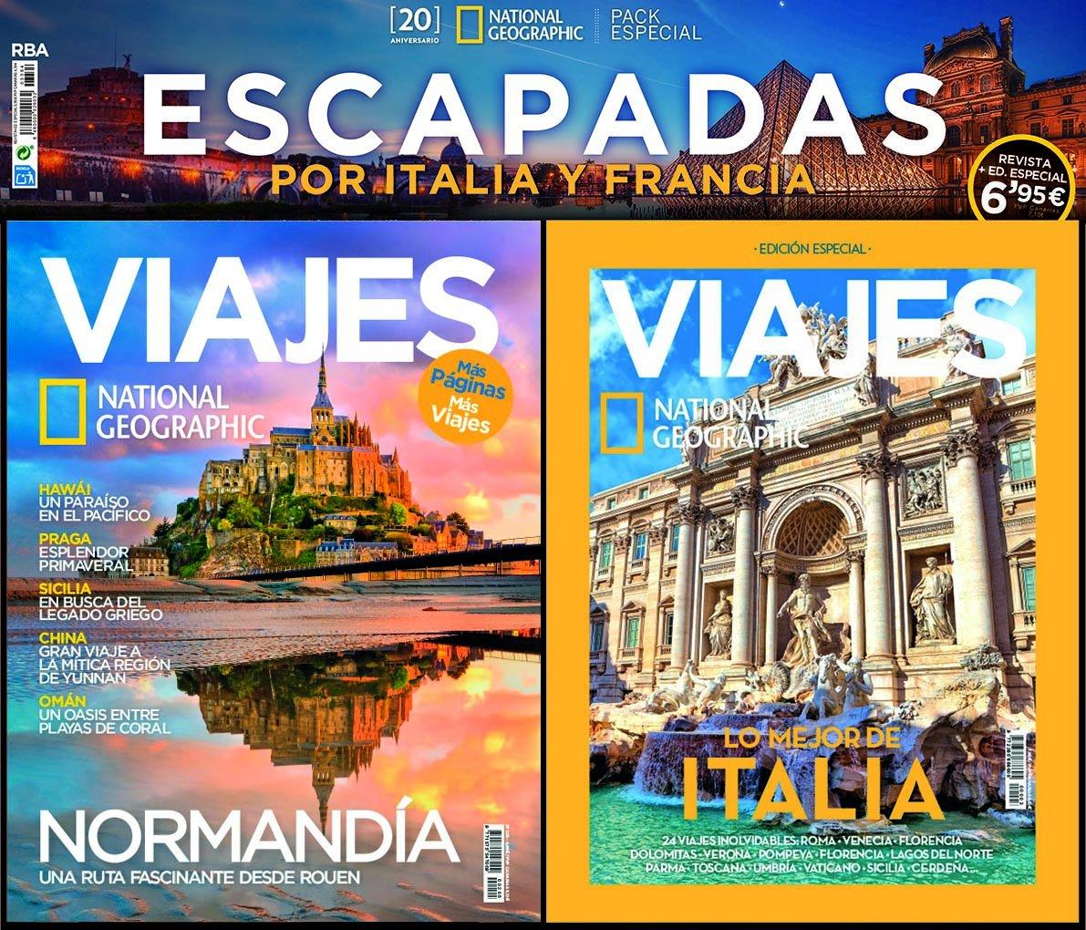 Pack National Geographic Viajes. Lo mejor de Italia ó Lo mejor de ...