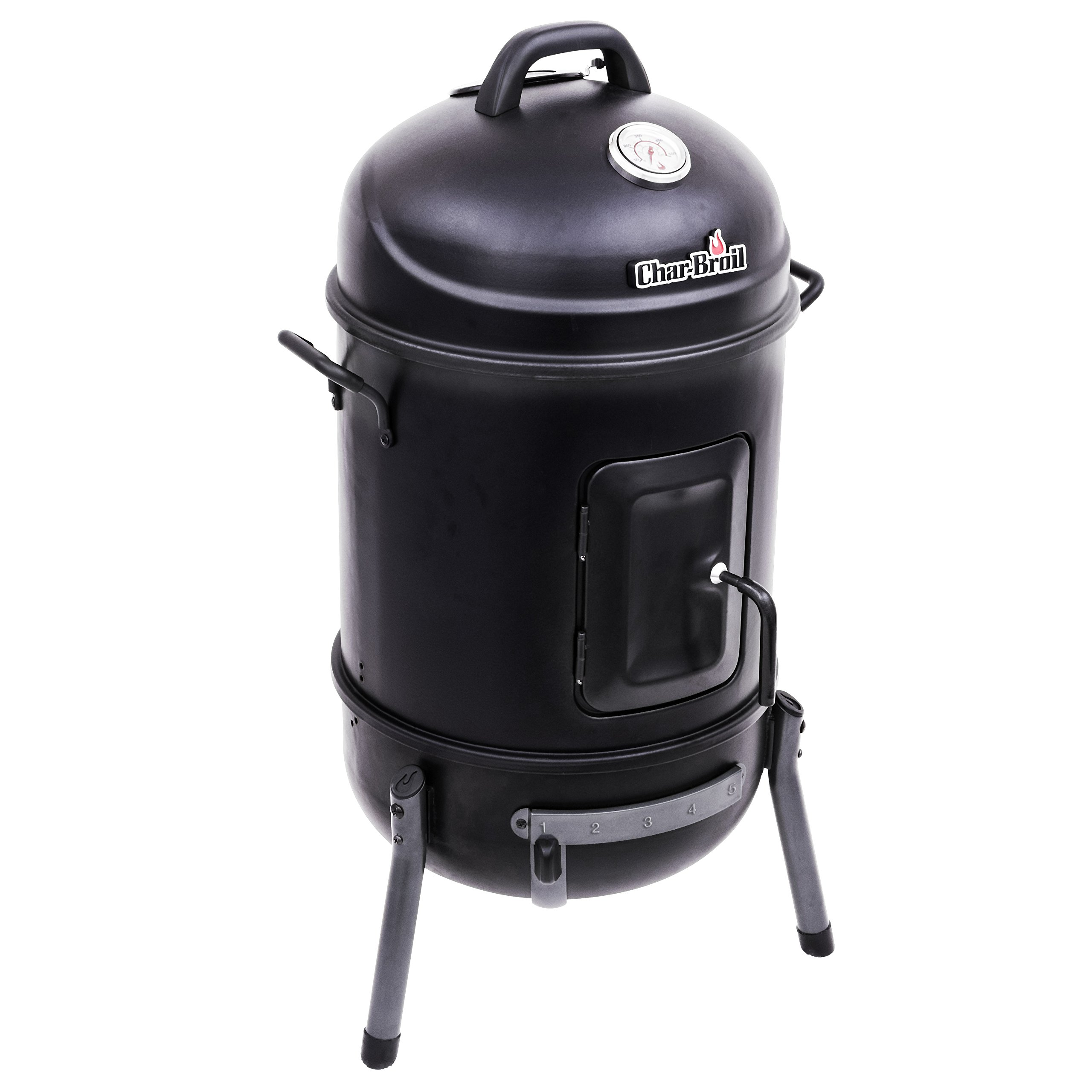 Char-Broil Bullet Charcoal Smoker, 16'' by Char-Broil
