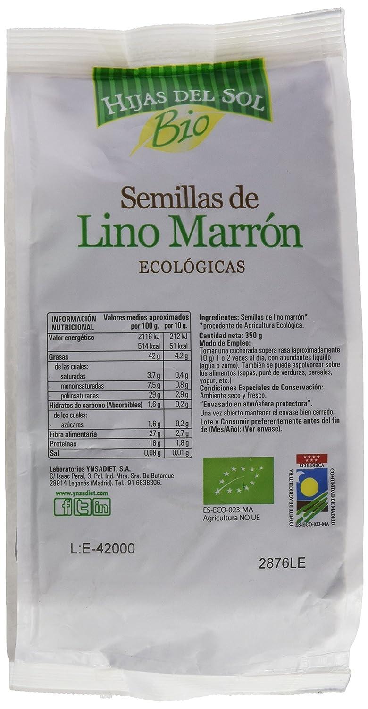 Hijas Del Sol Bio Semillas De Lino Marrón - 350 gr