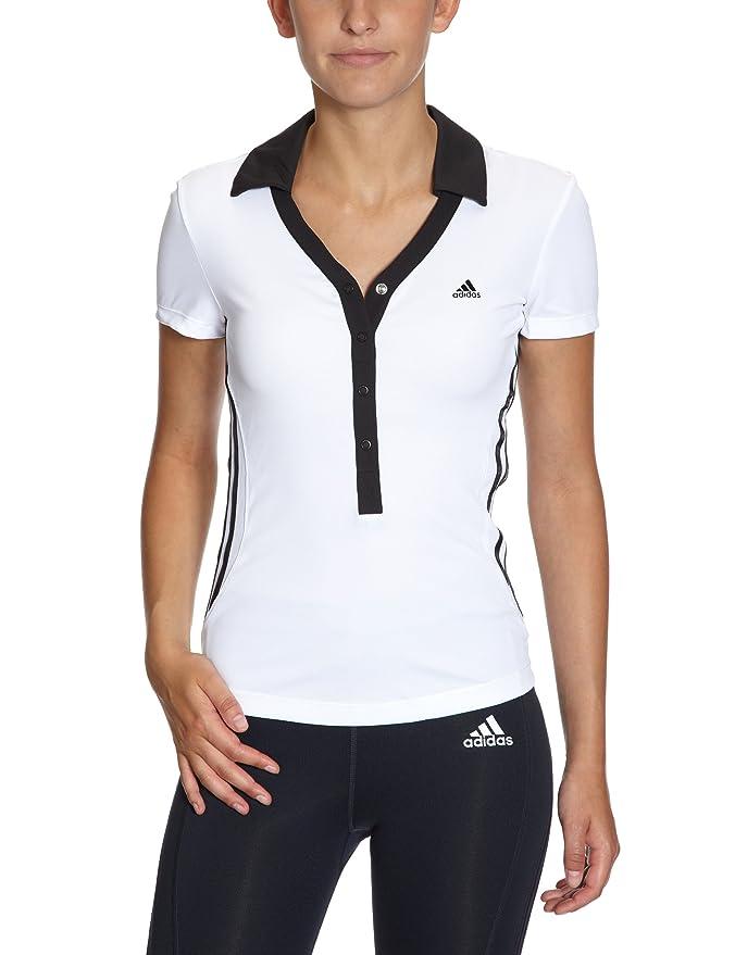 adidas - Camiseta de pádel para mujer, tamaño 40, color blanco ...