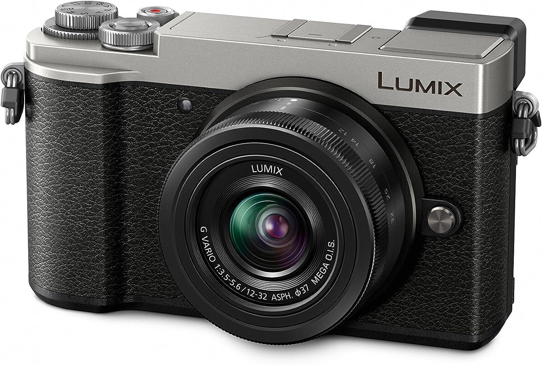 Panasonic Lumix dc-gx9keg-s cámara Mirrorless 20MP, Sensor Live Mos MFT, Objetivo de 12–32mm, Plata