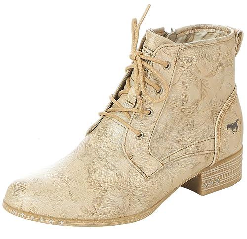 Mustang Shoes Damen Schuhe Schnürstiefeletten 1279 501 243