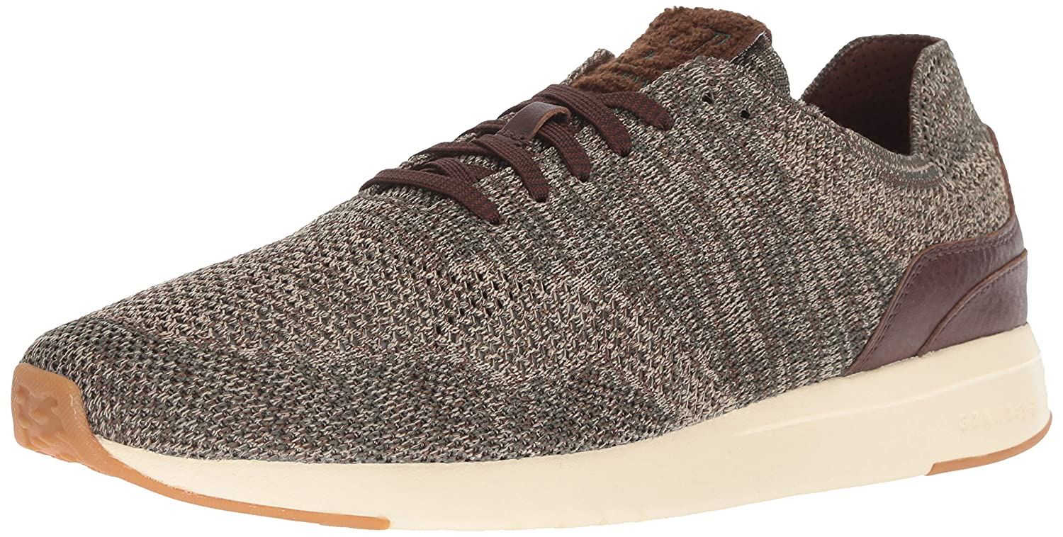 Cole Haan Grandpro Runner Stitchlite, Tenis para Hombre Deep Forest Curds Cream Knit