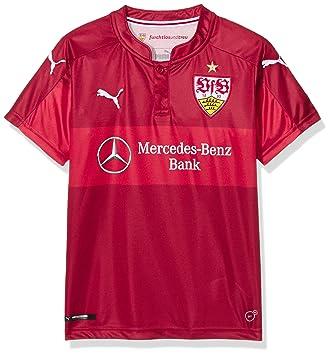 79cc8825cf Puma - Camiseta visitante réplica para niños del Equipo VfB Stuttgart