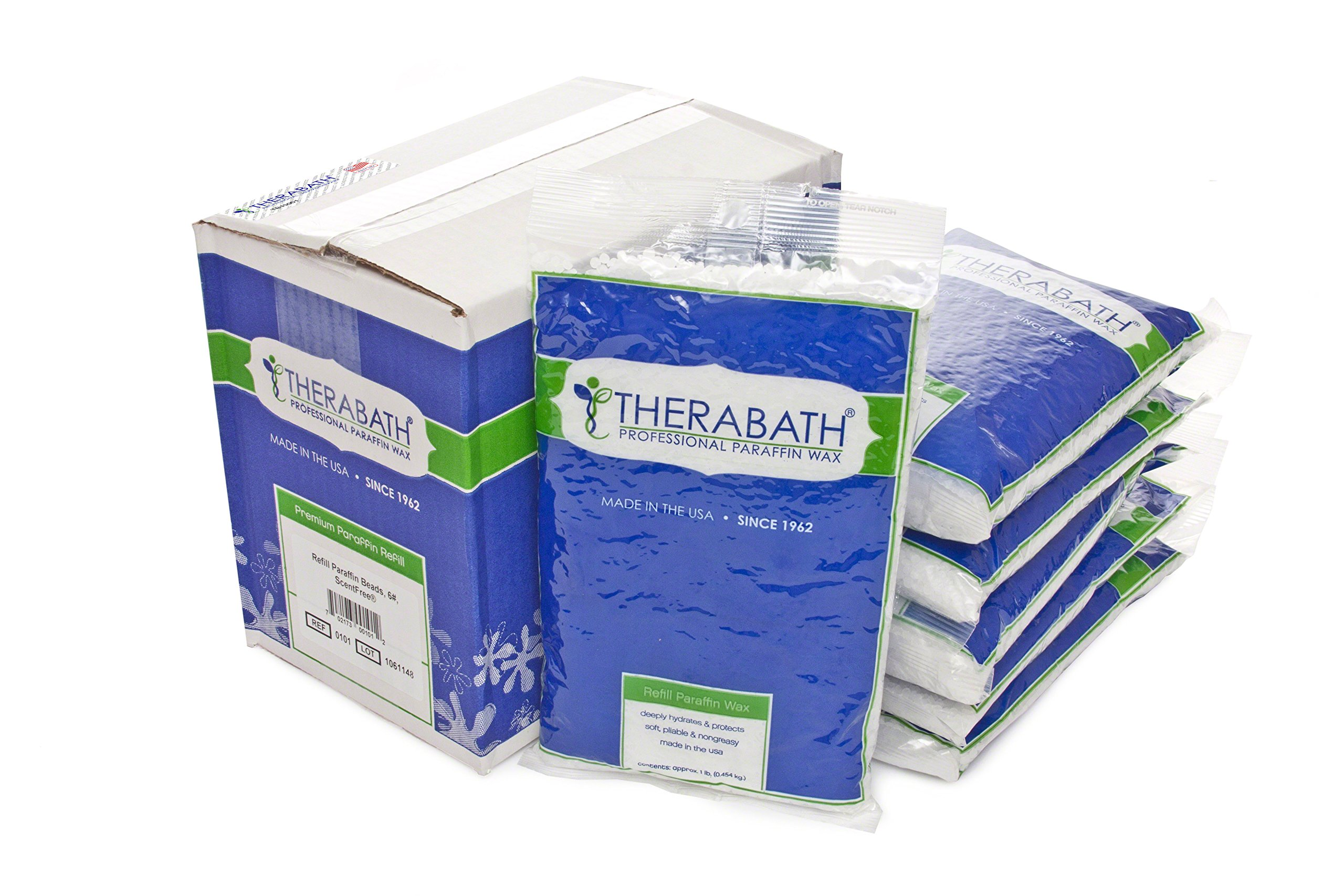 Therabath Paraffin Wax Refill - Use To Relieve Arthitis Pain and Stiff Muscles - Deeply Hydrates and Protects - 6 lbs (ScentFree) by Therabath (Image #2)