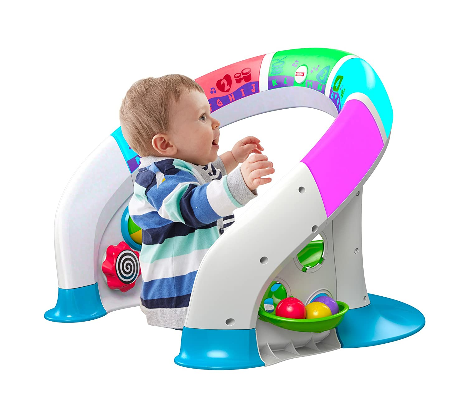 Amazon Fisher Price Bright Beats Smart Touch Play Space Toys
