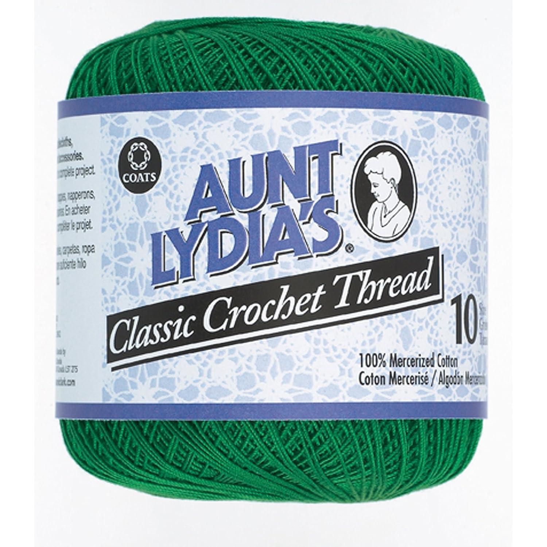Bulk Buy: Aunt Lydia's Crochet Cotton Classic Crochet Thread Size 10 (3-Pack) Zebra 154-932 Coats & Clark Inc. BCAC24886