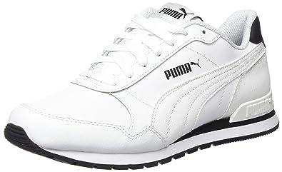 Adultes Unisexe St Coureur V2 Pleine L Baskets Bas Haut, Blanc, 8 Uk Pumas