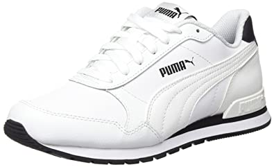 Unisex Adults St Runner V2 Full L Low-Top Sneakers, White, 8 UK Puma