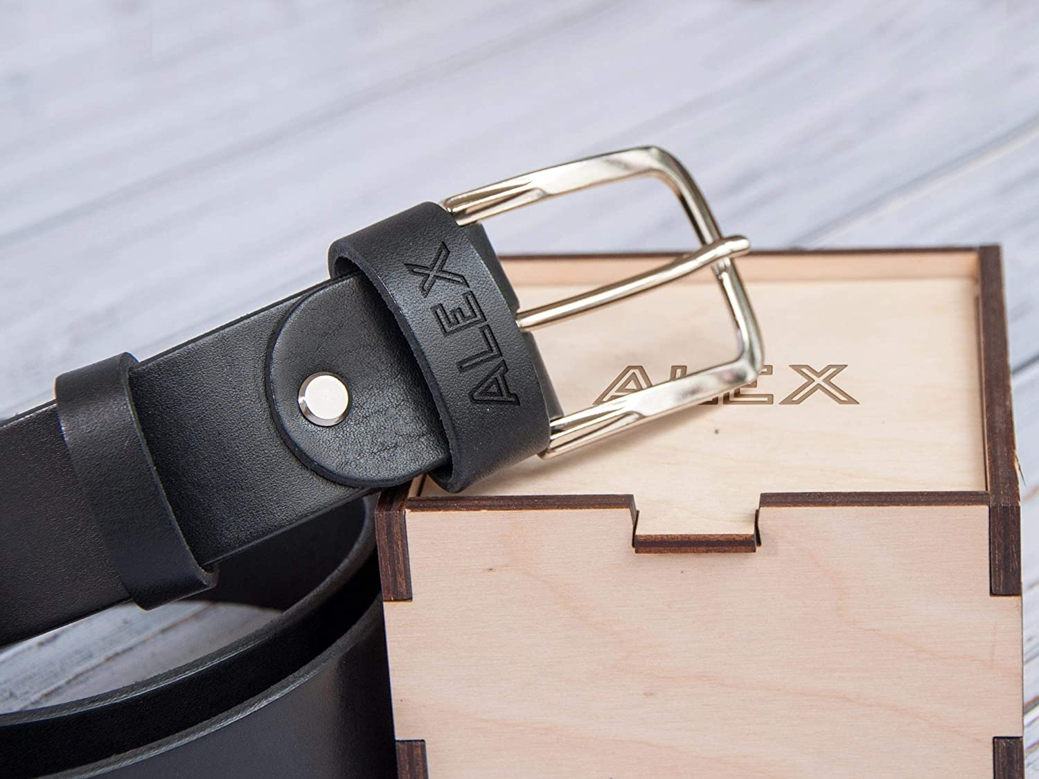 Christmas Gift Husband And Dad 2 PCS PU leather Can Attach To Belt