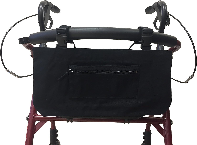 Amazon.com: Walker o bolsa para silla de ruedas, Negro ...