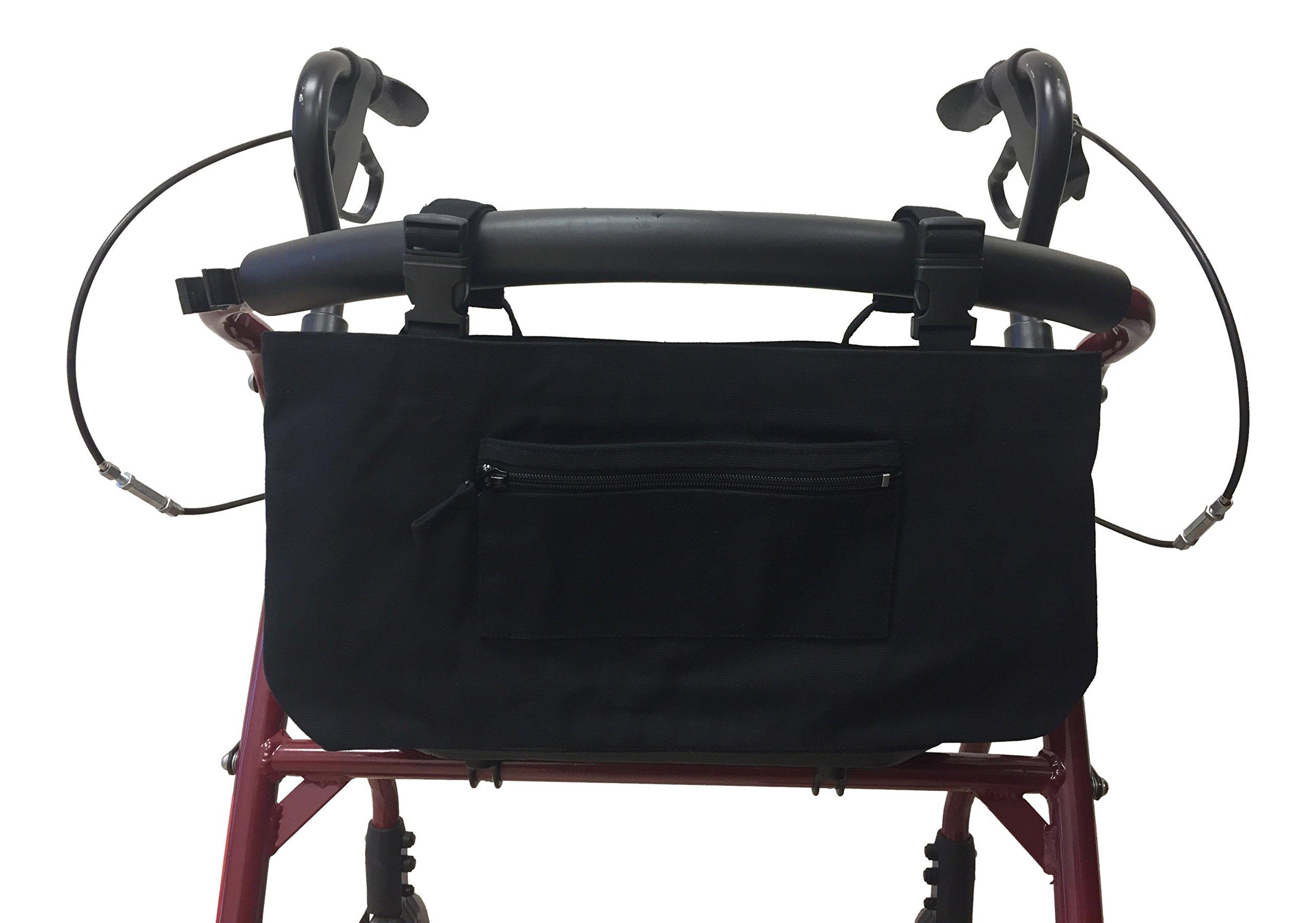 Black Walker/Wheelchair/Scooter Bag