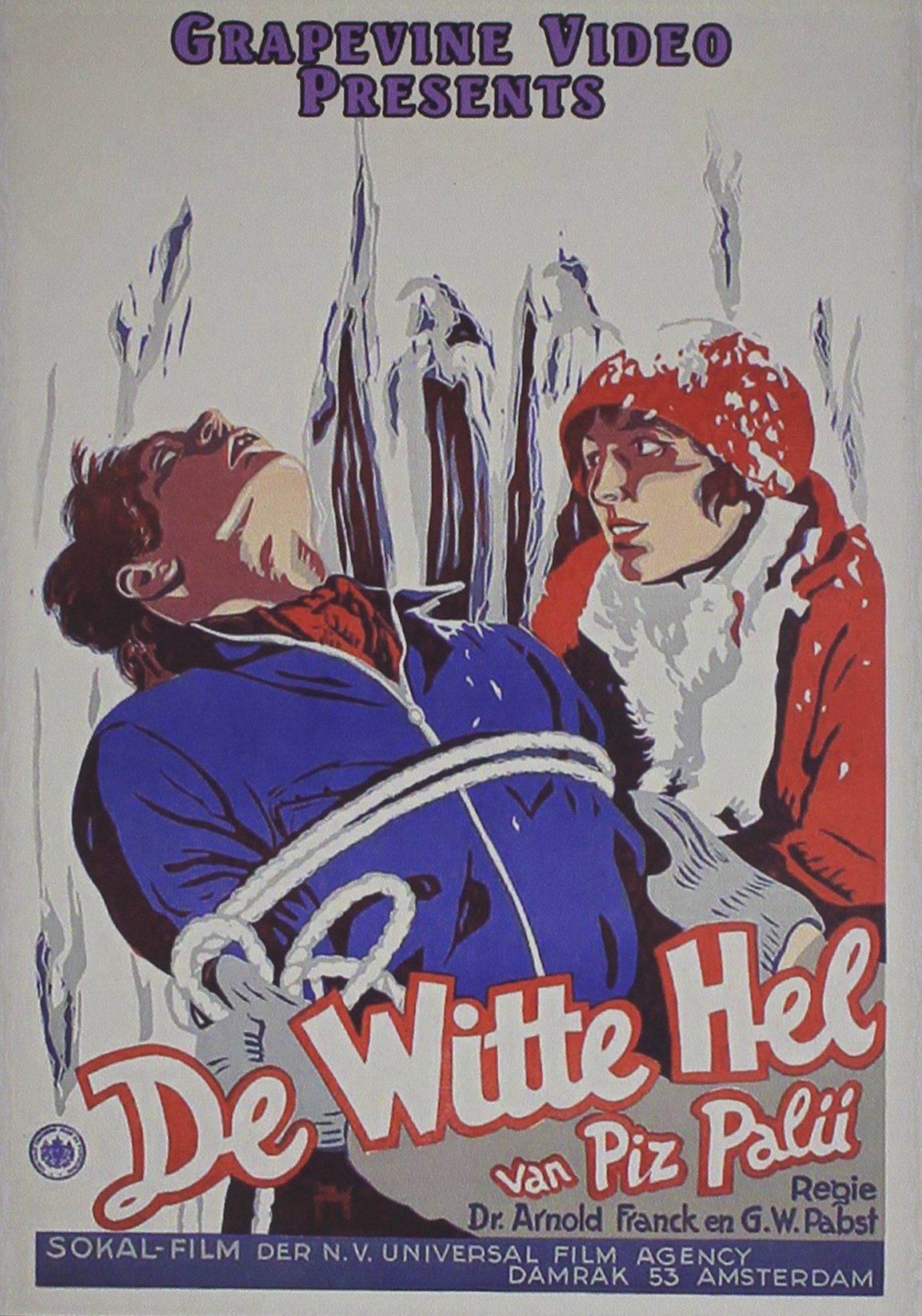 DVD : The White Hell Of Pitz Palu (DVD)