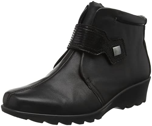 Hotter Tamara Ee, Women's Ankle Boots, Black (Black Lizard), 8 UK