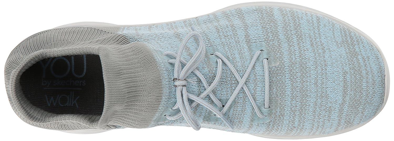 Skechers Women's You-14966 Sneaker B0721LRPV6 9.5 B(M) US|Gray/Blue
