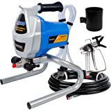 Hausse Electric Airless Paint Sprayer Spray Gun, 3000PSI Project Painter Power Painting for Professional Contractor, DIY Hand