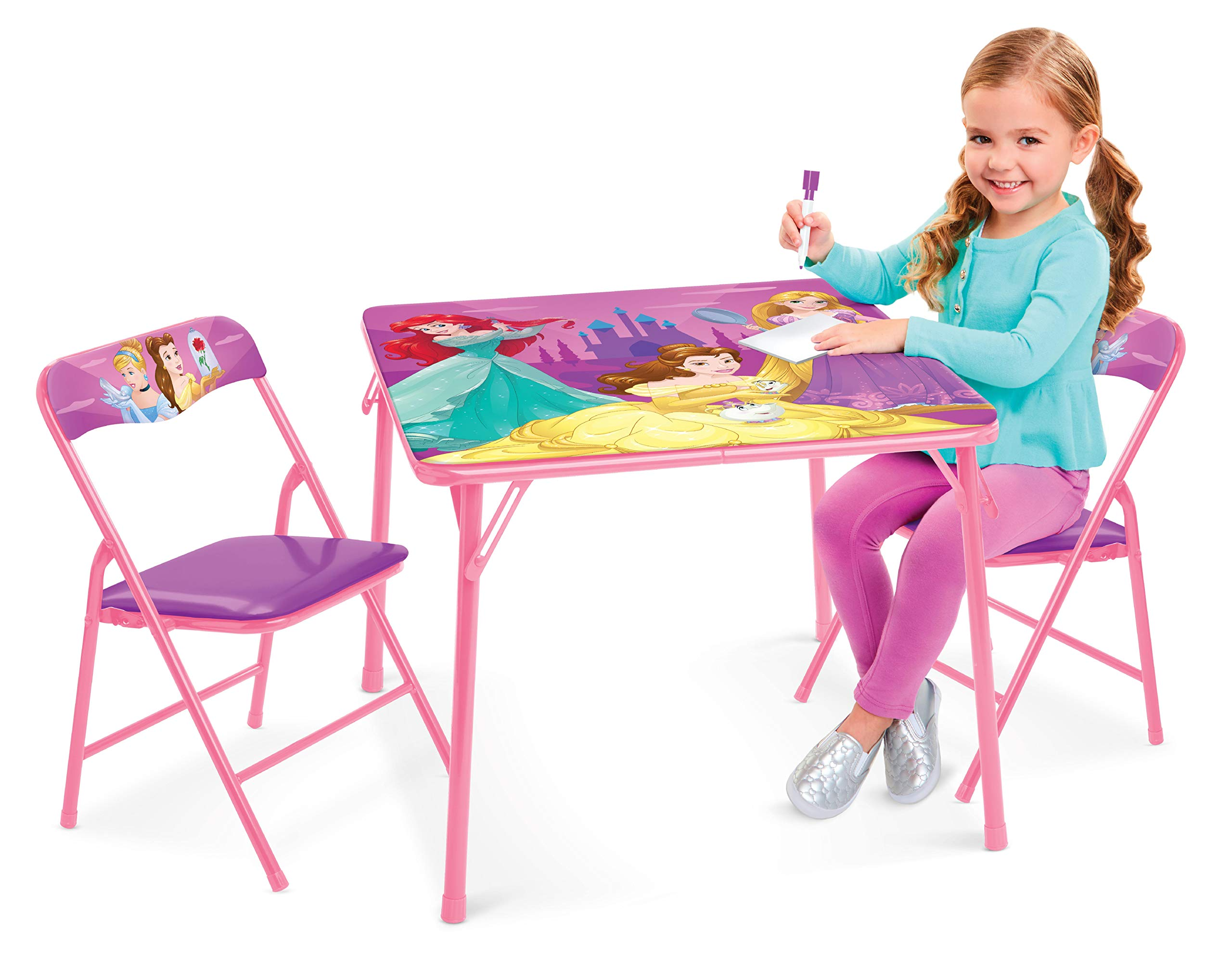 Disney Princess Table & Chairs - Explore Your World Activity Table (2) Chairs by Jakks