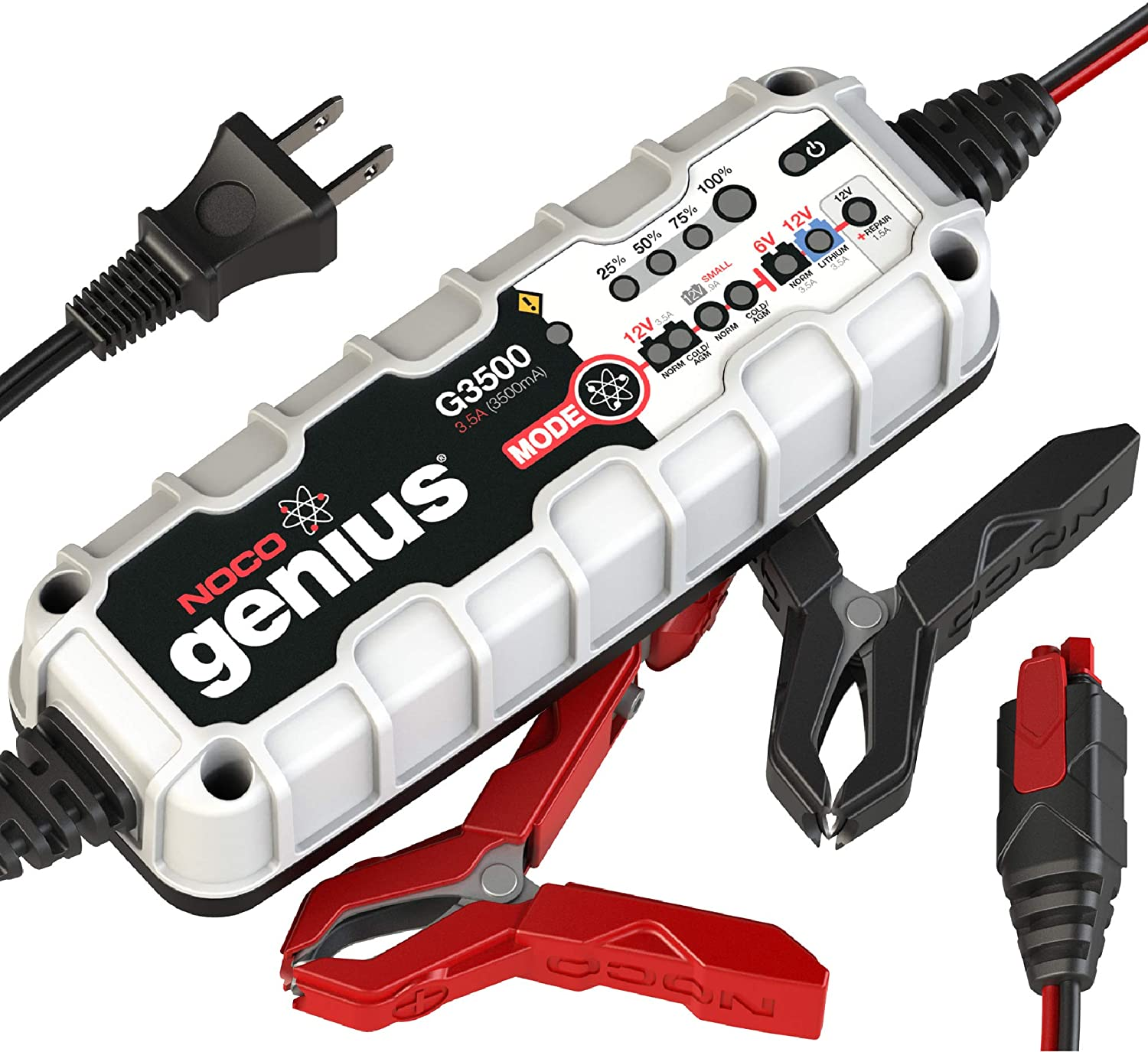 Best Car Battery Charger NOCO Genius G3500 6V/12V 3.5 Amp Battery Charger