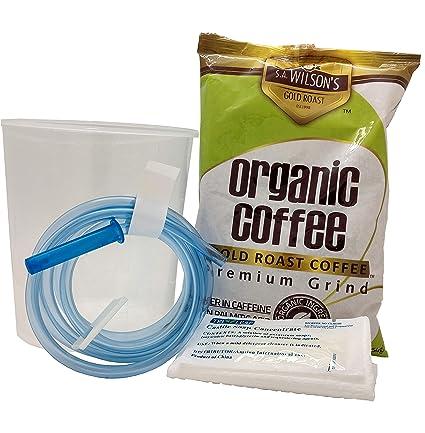 cafea detox colon