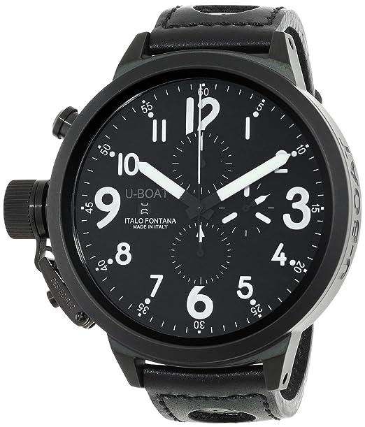 U-Boat 5435 - Reloj de Pulsera Hombre, Color Negro