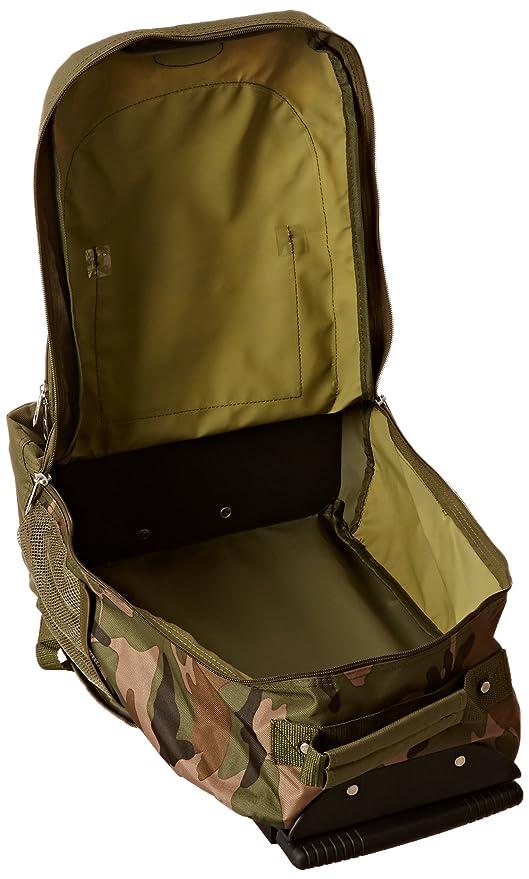 Amazon.com | Everest Woodland Camo Wheeled Backpack, Camouflage, One Size | Backpacks