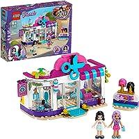 LEGO 41391 Friends Heartlake City Kapsalon Set met Emma Poppetje, Pruiken en Haaraccessoires, Kapper Rollenspel voor…