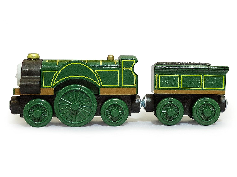 Amazon.com: Thomas & Friends Fisher-Price Wooden Railway, Emily ...