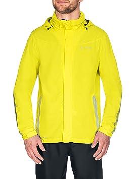 Vaude Men's Luminum Jacket Veste de Pluie pour Le Vélo Homme, Black, FR : L (Taille Fabricant : L)