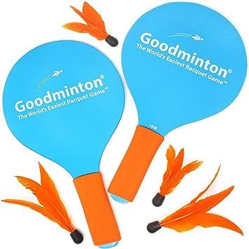 Amazon.com: VIAHART Goodminton | El juego de raquetas más ...