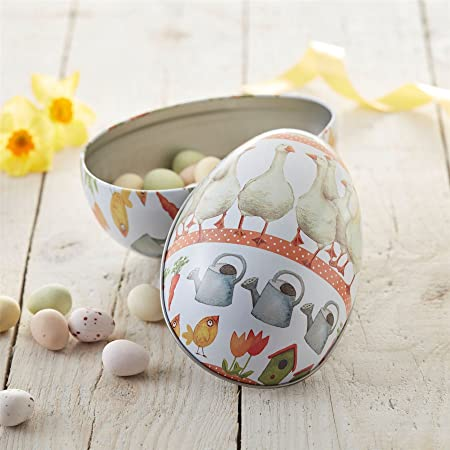 Gisela graham goose easter egg gift tin amazon kitchen home gisela graham goose easter egg gift tin negle Images
