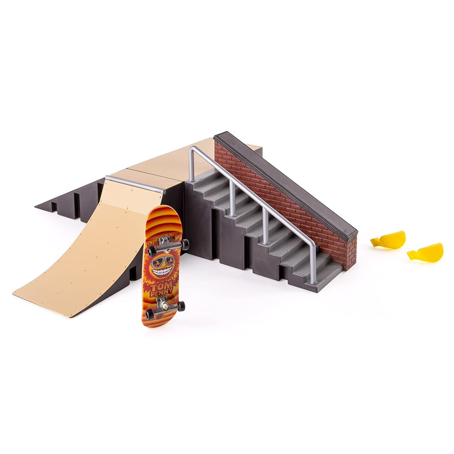 Amazon tech deck starter kit ramp set and board toys games baanklon Gallery