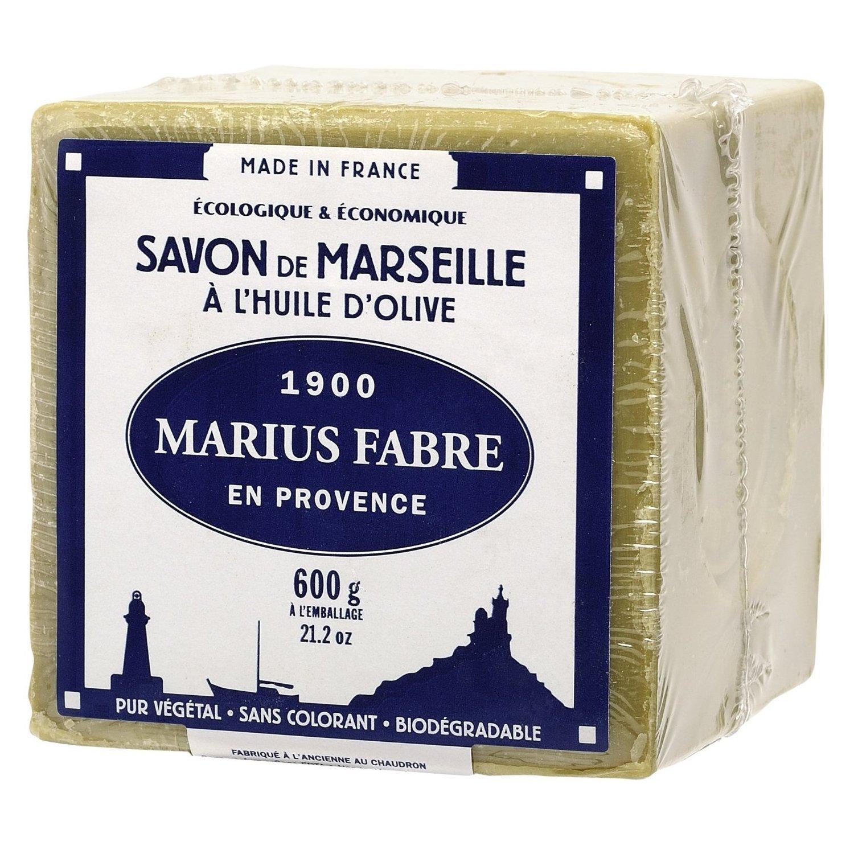 Savon De Marseille Soap 21.1 Oz 72% Olive Oil - Marius Fabre