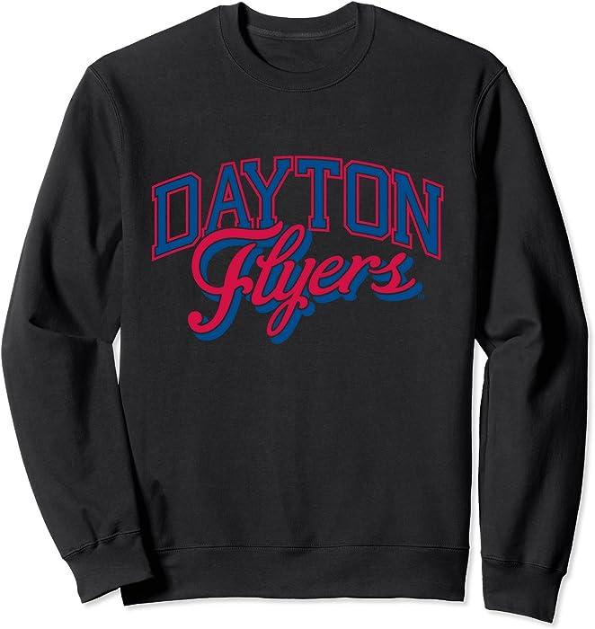 buy popular 28c74 5b3bf Amazon.com: Unisex Dayton University Flyers NCAA Sweatshirt ...