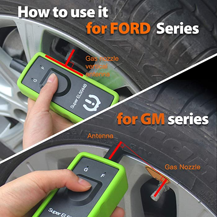 JDIAG Super EL50448 Relearn Tool is one of the best Ford TPMS tools