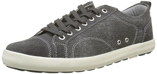 Lumberjack Wolf, Sneaker Uomo, Grigio (Dk Grey-007M54), 42 EU