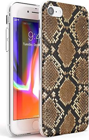 Piel De Serpiente Funda de Teléfono de Goma Slim Cover para iPhone ...