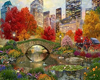 product image for Springbok's 1000 Piece Jigsaw Puzzle Central Park Paradise