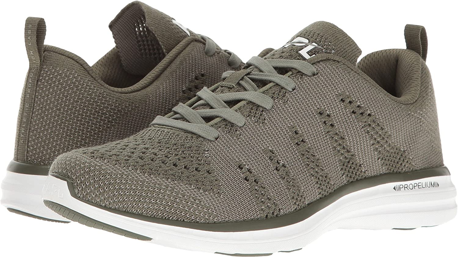 APL: Athletic Propulsion Labs Women's Techloom Pro Sneakers B01N32SM1I 7.5 B(M) US|Fatigue Cashmere
