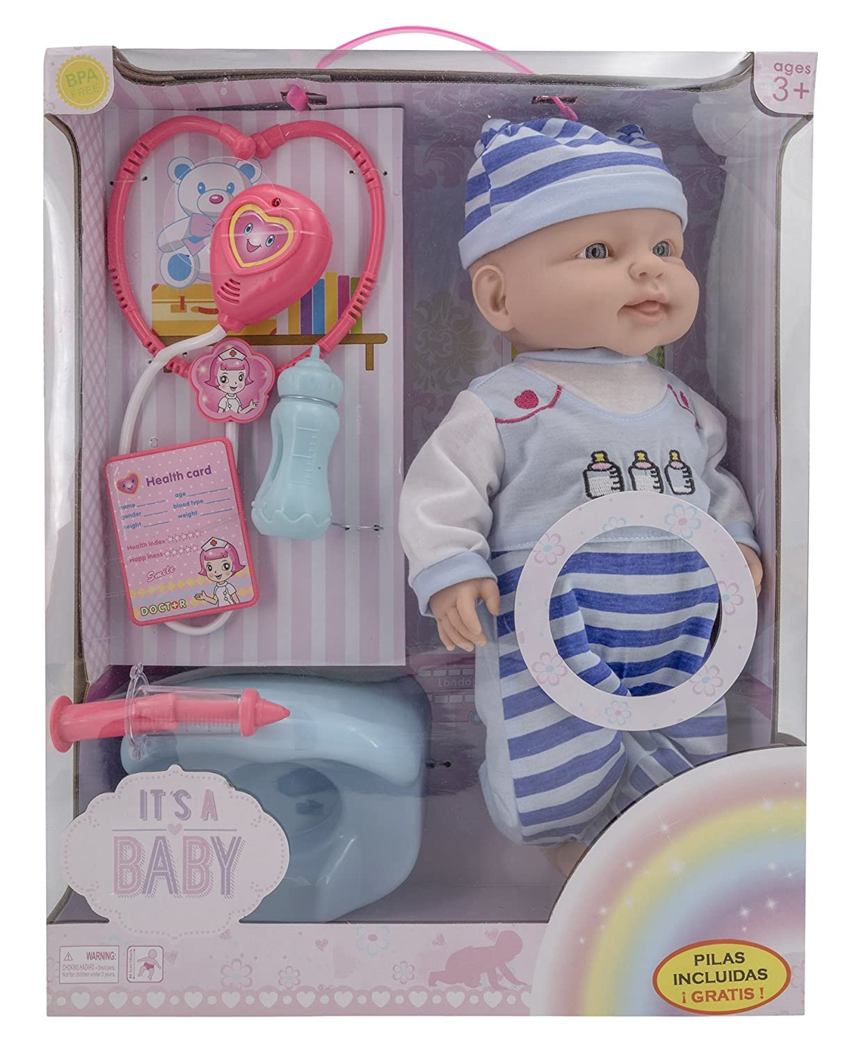 Toys Outlet Mu/ñeca con Accesorios. Baby May May 5406332784