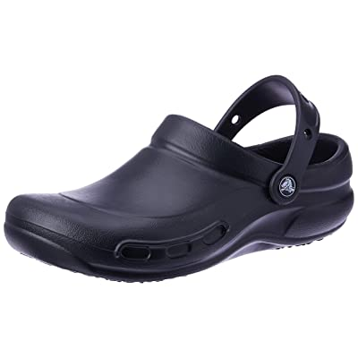 Crocs Bistro Clog, Black, 9 US Men / 11 US Women | Mules & Clogs
