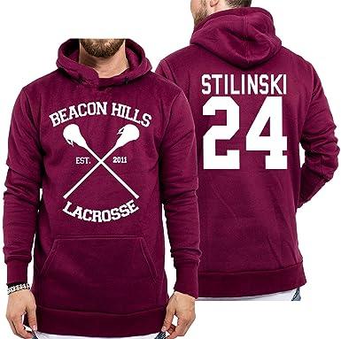 New Teen Wolf Beacon Hills 2017 Stilinski 24 Hoodie Jumper