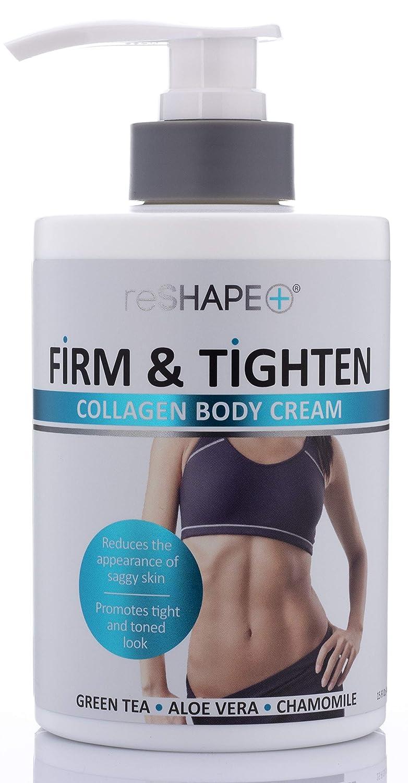 Collagen Body Cream Moisturizing, Tightening Cellulite Cream Improves Elasticity, Plumps Sagging Skin (15oz)
