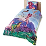 cityof20 Disney Mia and Me Fairy Girl's Duvet/Quilt Cover Set Single/Twin Size Kids Bedding