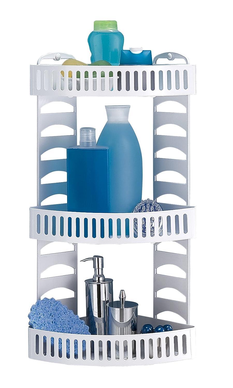 Toyma Ref 600 Plastic Triple Corner Shelf: Amazon.co.uk: DIY & Tools