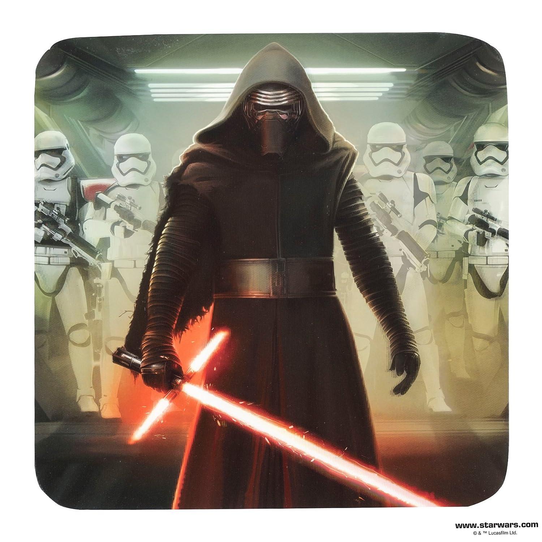 Star Wars Episodio VII Set di sottobicchieri 3D 8