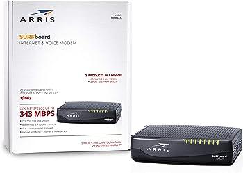 ARRIS Surfboard Docsis 8X4 Cable Modem